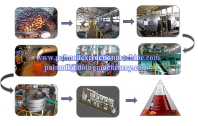 Palm oil production machine - Palm oil production