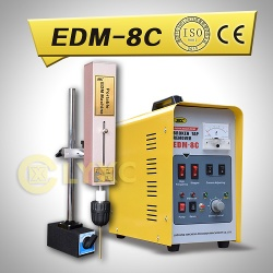 Small and light portable EDM spark erosion machine - EDM-8C