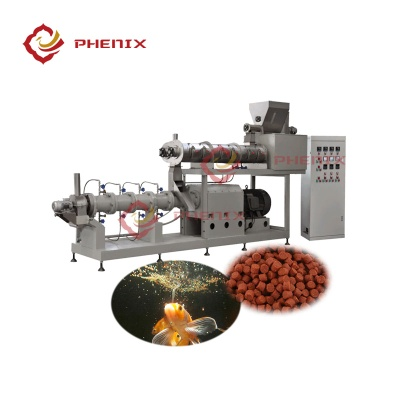automatic floating fish feed extruder making machine production line - 1