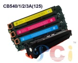 Printer Cartridge for HP CB540A CB541A CB542A CB543A - PCH-CB540-3A