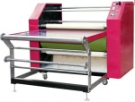 fabric  printing machine / roller heat press machine / roller style heat transfer machine - roller heat press