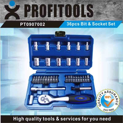 36pcs drill and srewdriver bit set - PT0907002