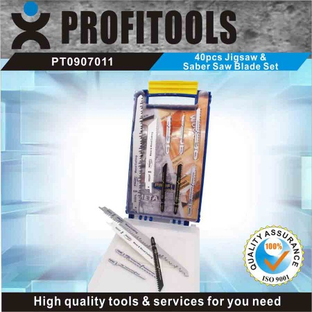 40pcs Jigsaw & Reciprocating saw blade S - PT0907011