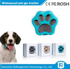 Reachfar rf-v30 2016 cheap mini waterproof wifi anti-lost pet gps tracker inside sim card for small dog/cat - RF-V30