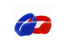 Silicone nfc rfid Bracelet/wristband for access control - 2015061801