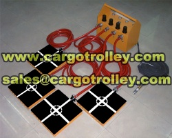 Air bearing movers moving heavy duty loads safety air casters - Air bearing movers m