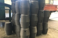 300-500mm UHP graphite electrode - 2