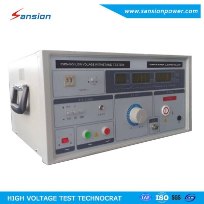 3kV/5kV/10kV Low Voltage Hipot Testing Machine - SXDN