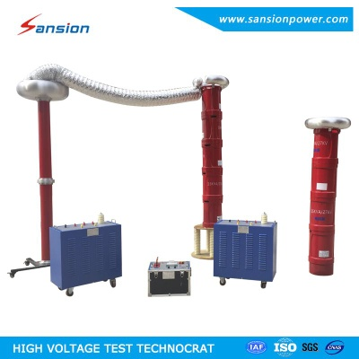 Variable Frequency AC Series Resonance Test System - SXBP-378kVA/27kV