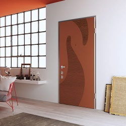 High Acoustic Insulation Security Door with Authomatic Locking System - Meccanya Sound