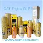 High Performance Engine Oil Filter for Caterpillar Excavator/Loader/Bulldozer - Filters