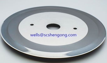 Tungsten carbide blades used on slitting converting and rewinding machines - 00001
