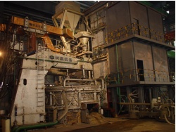 eco-friendly energy saving vertical and continuous charging scrap preheating arc furnace