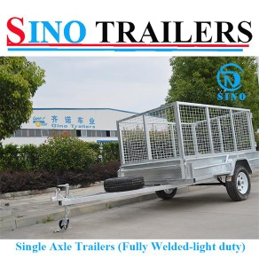 Fully Welded Trailers Box Trailer - SN-BW75