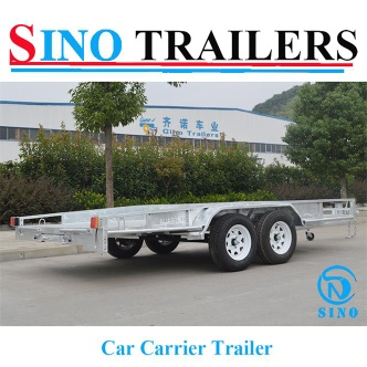 Dual Axle Heavy Duty Car Carrier Trailers - SN-CCT147