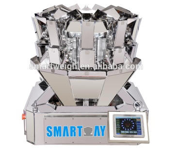 0.5L Hopper Mini Ten Head Dry Tea Multihead Weigher - SW-MS10