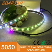 Hot sale DC 12V SMD 5050 RGB 60 lights/m LED strip light - SPT-5050-12V-60RGB