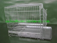 Stainless steel welded pet cage - 4