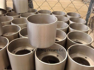 Cast iron drum for rice hulling rubber roller, CI drum