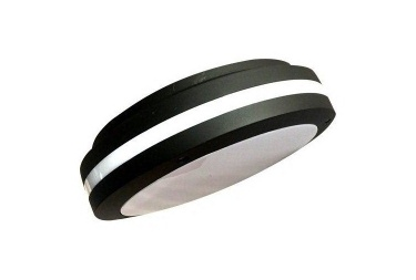 Black housing 20w led bulkhead light super bright IP65 IK10 cool white 6000K - led bulkhead light 2