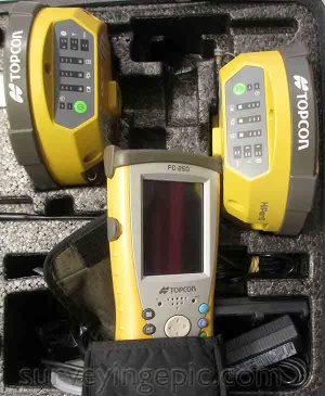 Topcon Hiper II RTK 10 Hz update rate and 450-470 internal Digital UHF radio