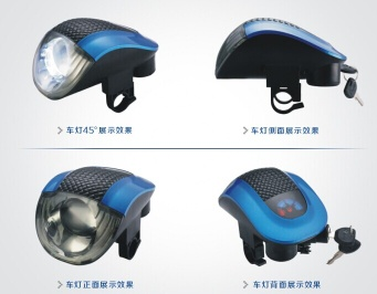 Electric scooter LED Headlight - TH-LEDD03