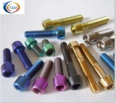 ANODIZED TITANIUM BOLTS FOR BICYCLE - Ti-223