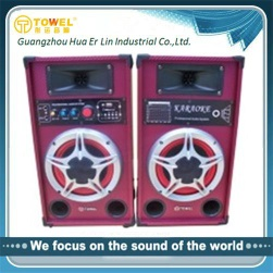new product 2016 active wooden speakers professional China supplier - 2.0 active speakers