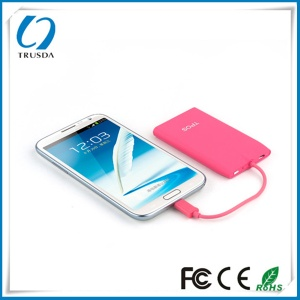 ULTRA SLIM  Li-polymer battery Power bank 3000mAh - E3