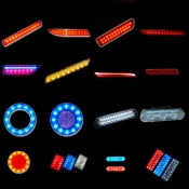 LED auto part, rear bumper lamp, LED reflector, decoration light, Day time running light - Auto part