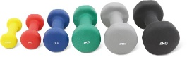 Neoprene dumbbells, Vinyl weights and dumbbells for sale - UV10204