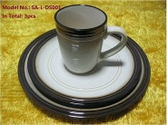 Porcelain Plates and Mug - SA-L-DS001