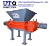 Double Shaft Shredder for tire, plastic, medical waste, metal, wood recycling crusher - Two Shaft Shredder