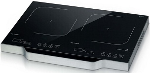 High-end protable induction cooker with double burners