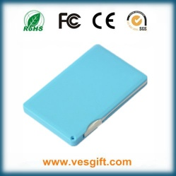 Ultra-Thin Card 8mm Power Bank 2000mAh - VPC018L