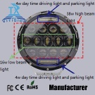 75w led headlight with 16watt low beam,38watt hight beam,4watt daytime draiving light - LED headlight
