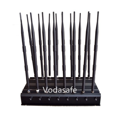 16 Antennas Low Band All Bands up to 50m Model, 3G 4G WiFi Signal detector with Cooling Fan - CPJX16