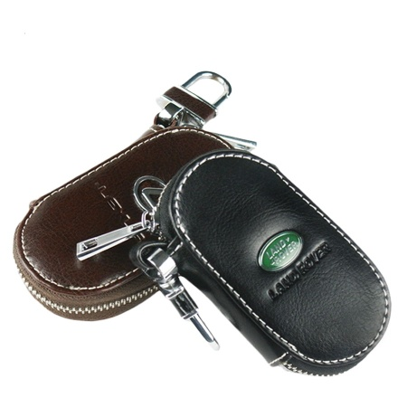 Leather car key case with car brand logo - VS-105