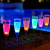 Liquid Active Glow Party LED Flashing Cup Champagne Glass - WL-FG-01