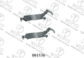 wellde disc brake pad clip 801530 for FRONT BUICK APOLLO 1973-1975 - 01