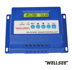 Wholesale Wellsee WS-SC2430 20A three -stage solar charge and discharge controller - WS-SC2430