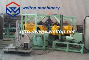 Eight-station cylinder sleeve centrifugal casting machine - J8