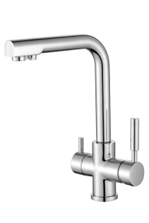 Double handles bar sink faucet - SC-2310w-1024