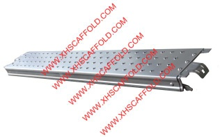 Ringlock scaffolding steel plank with hook - 5