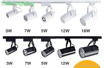 shop LED track light, showroom LED track lighting, store commercail spotlight - K-KF-703