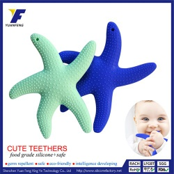 Funny baby teether BPA Free silicone toys for kids - SP-1044