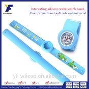 OEM factory wholesales watch band cartoon watch strap snap watchband - BD-014