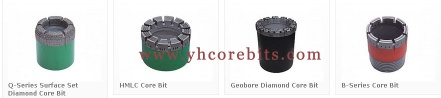 Impregnated Diamond Core Drill Bits BWL For Hard Rock Core In Mining Exploring - Core Drill Bit