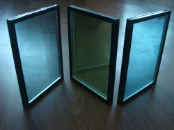 heat-insulated ray reflective multilayer laminated insulated tempered glass