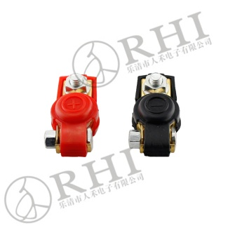 Heavy duty red& black battery clip - 20161106